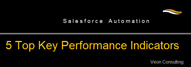 5 Top KPIs regarding Salesforce automation