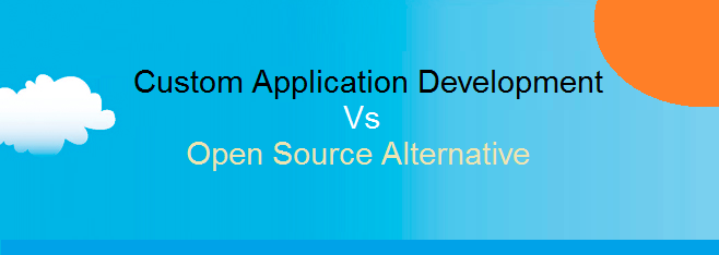 Banner - Custom Application versus Open Source alternative