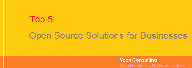 Top 5 Open Source Applications for Businesses