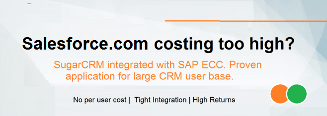 Affordable Alternate to Salesforce.com Integrated with SAP