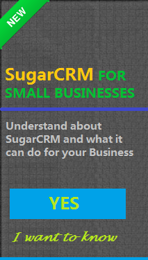 SugarCRM Small Business CRM