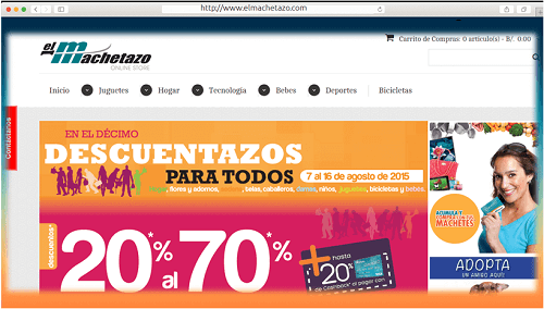 sap magento success story - elmachetazo