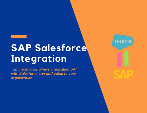 Top 5 ways wherein Salesforce – ERP integration can help companies
