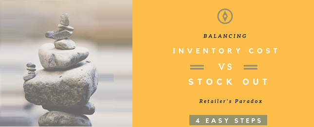 eCommerce Balancing inventory versus stock outs