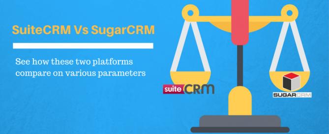 Comparion between SugarCRM and SuiteCRM