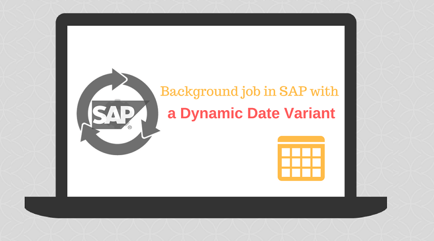SAP Background Changing date Banner Image