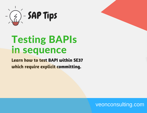 How to test BAPI which do not commit using SE37