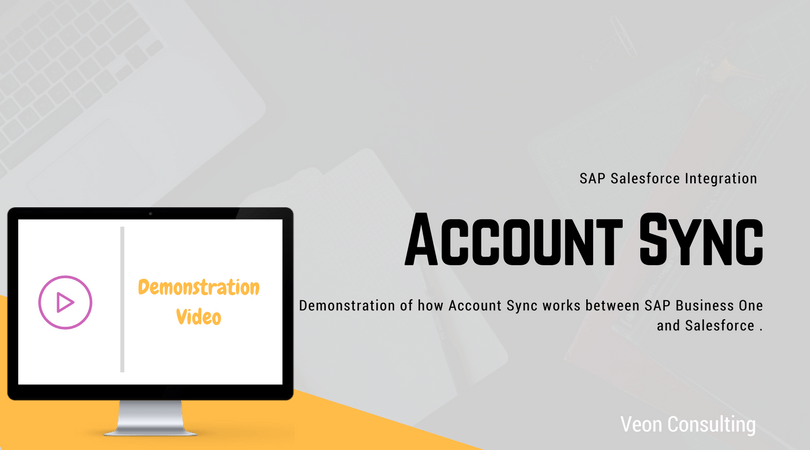 SAP Business One Account Integration with Salesforce