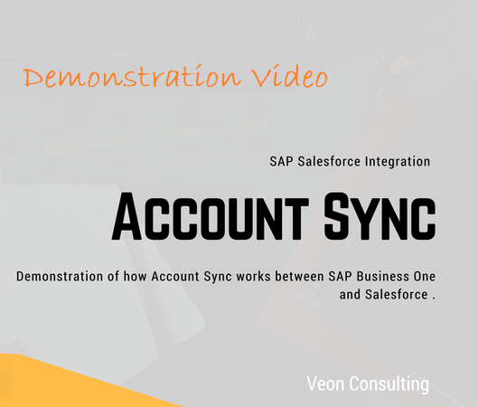 SAP Business one and Salesforce Account Sync