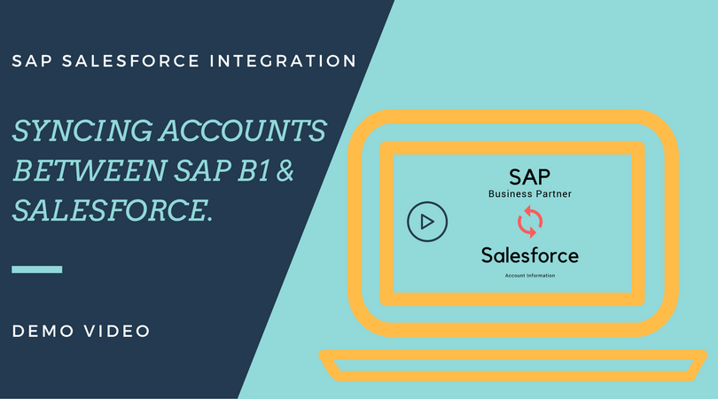 SAP B1 and Salesforce - Account Sync