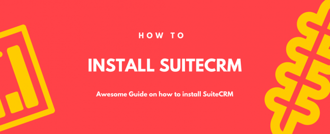 Guide on how to Install SuiteCRM