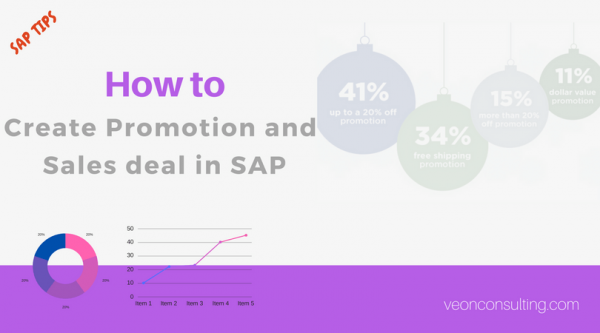 Create promotion sales deal in SAP