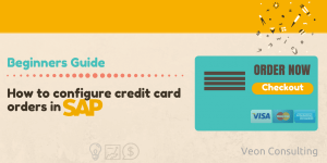 How to configure Credit card order in SAP