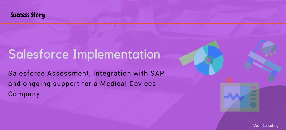 Salesforce for Florida based Medical Devices Company