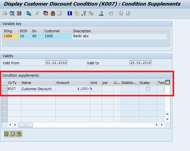 Screenshot Condition Rec