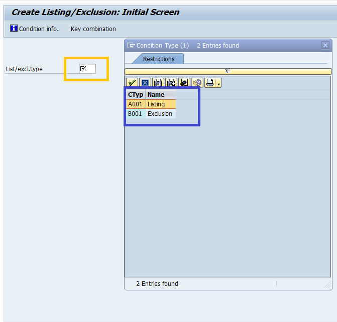 Screenshot of Create Page