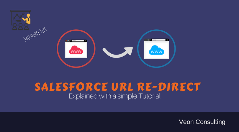 Salesforce URL redirect example explained