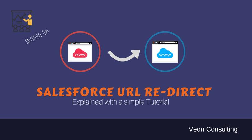 Salesforce URL redirect example explained