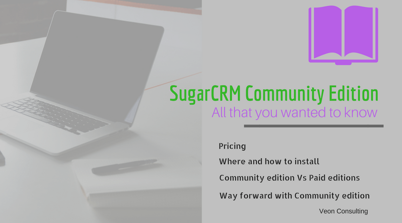 SugarCRM Community Edition Banner Image