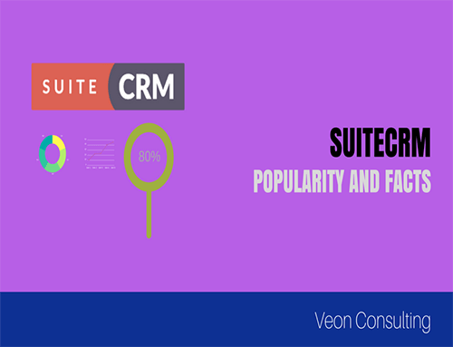 SuiteCRM Popularity and Quick Facts (info-graphics)