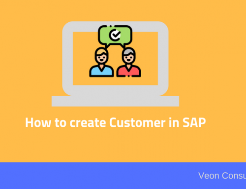 Simple tutorial on how to create customer master data in SAP