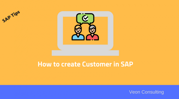 How to create Customer within SAP