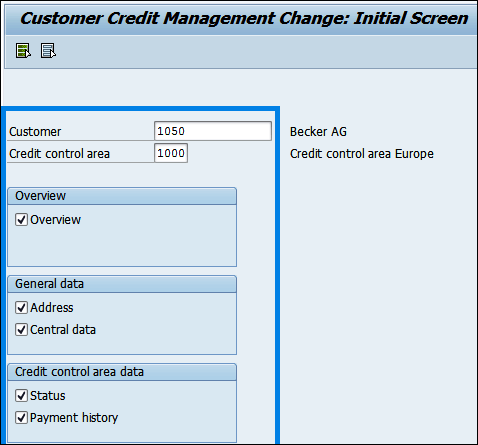 Customer credit Management