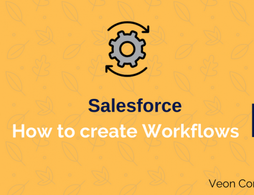 How to create a workflow in Salesforce