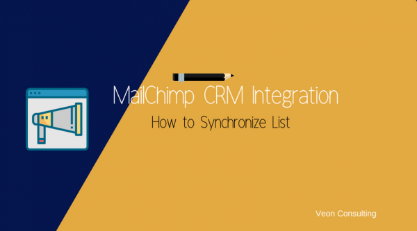 MailChimp Integration List Sync with CRM
