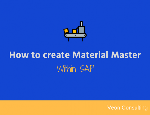 How to Configure Material Master Data in SAP