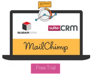 SugarCRM MailChimp Integration banner