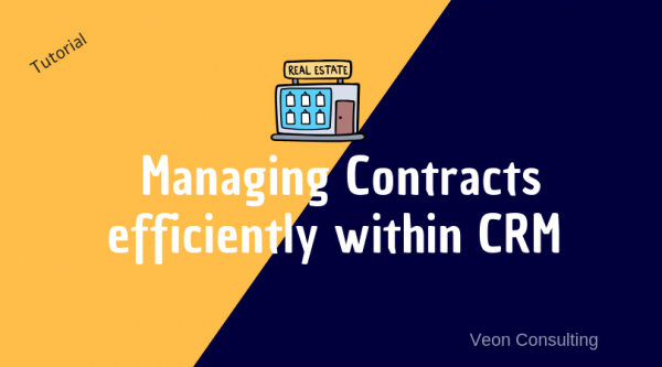Banner Image Real Estate CRM managing contracts