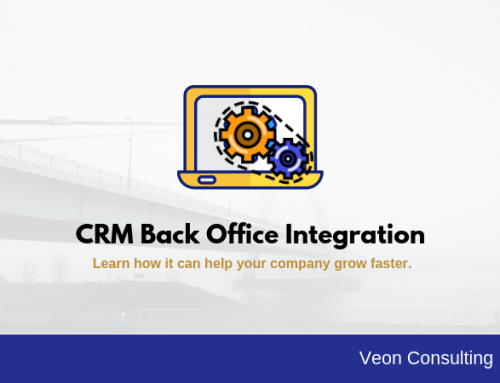 Increasing Sales by leveraging CRM back office integration