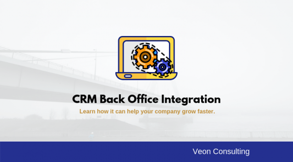 Banner Image - Benefits of Integrating CRM with back office Software Solution