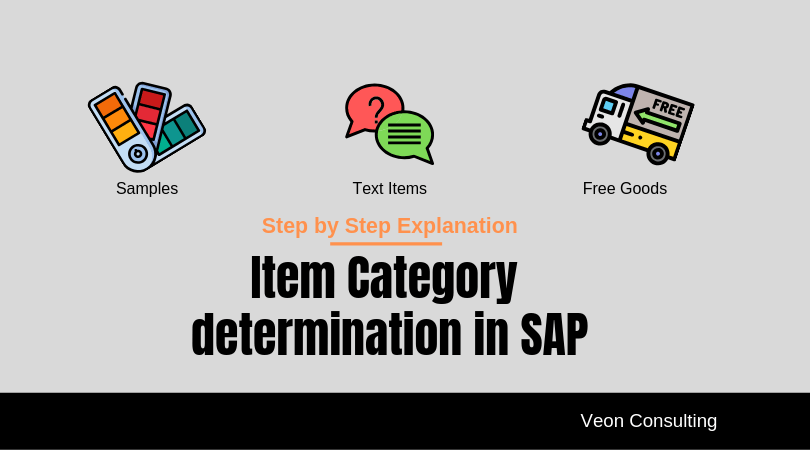 SAP Item category determination - Step by Step guide