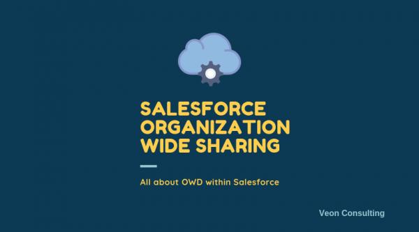 Salesforce organization Wide sharing defaults