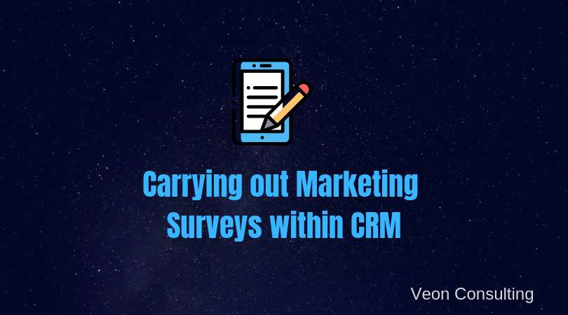 Surveys within CRM