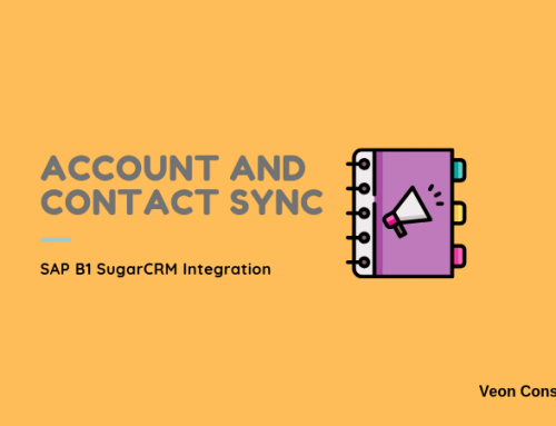 Account and Contact Integration between SugarCRM and SAP Business One