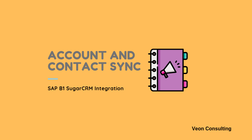Banner Image Account and contact Integration SAP Business One and SugarCRM