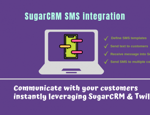 SugarCRM SMS Integration using Twilio