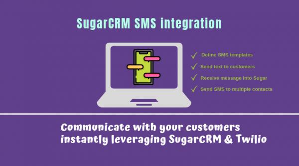 SugarCRM SMS integration using Twilio