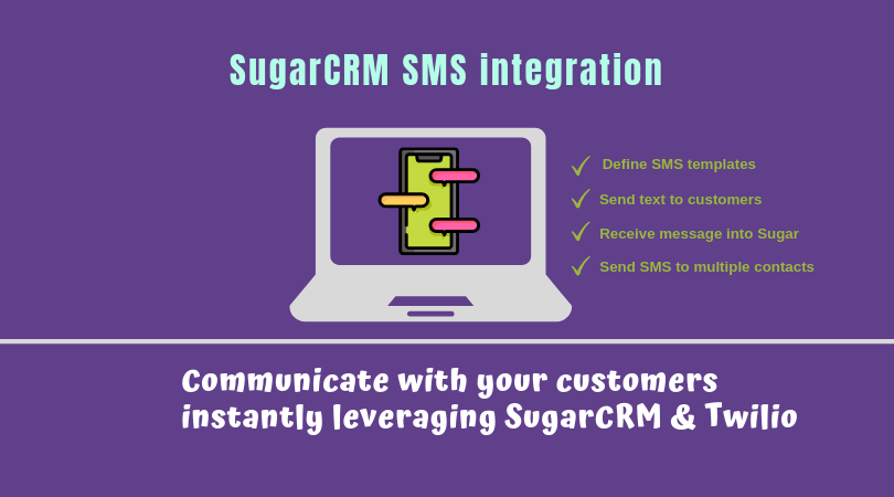 SugarCRM Twilio integration for SMS exchange | Veon