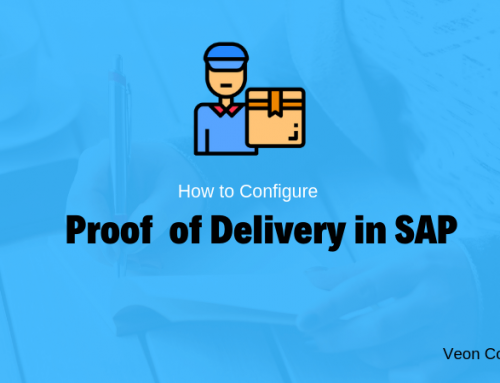 Understanding POD (Proof of Delivery) process within SAP