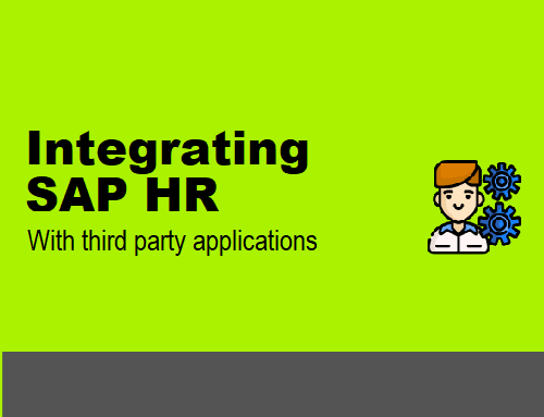 Integrating SAP HR with third party applications