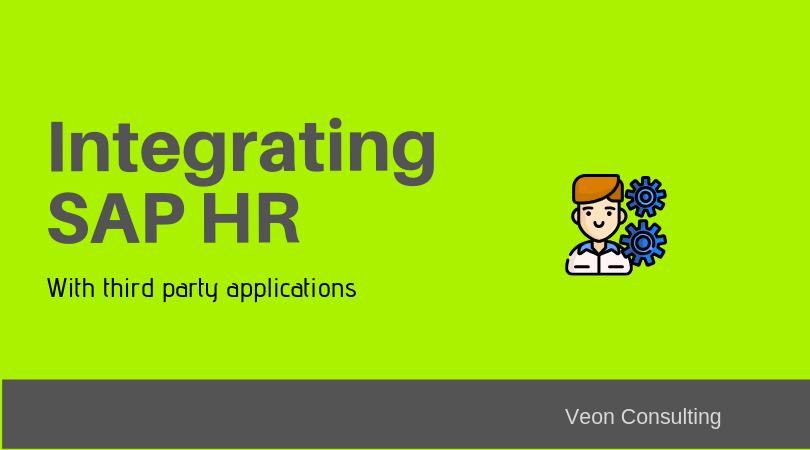 SAP HR integration with third party application