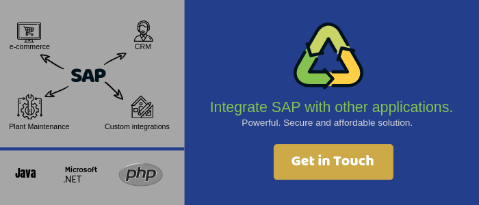 SAP Integration Services by Veon Contact Banner