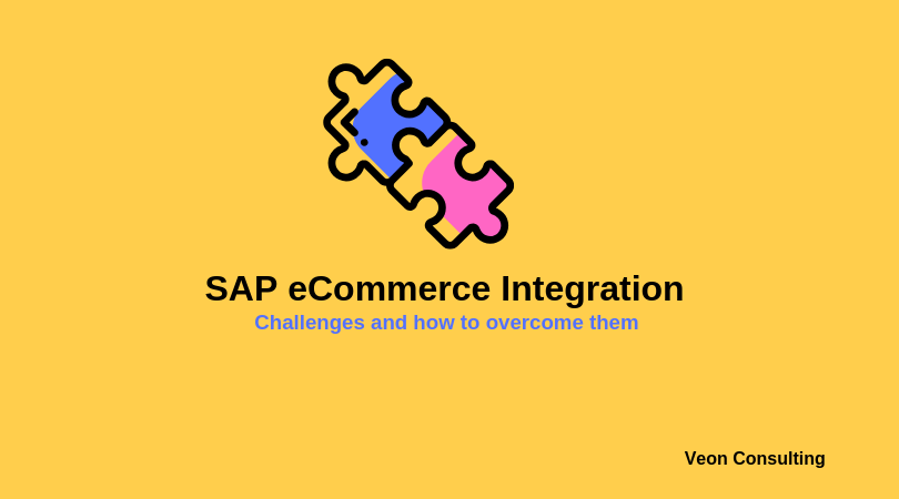 SAP eCommerce Integration and Challenges Banner image