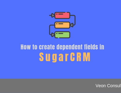 How to define dependency between fields in SugarCRM