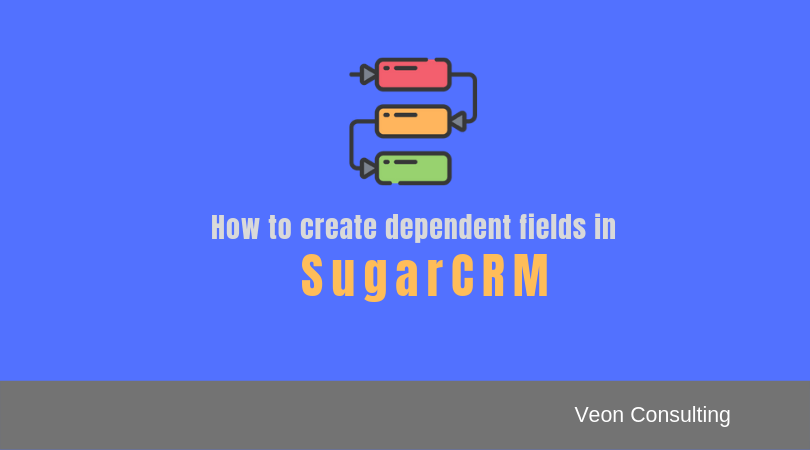 How to create dependency in SugarCRM banner image