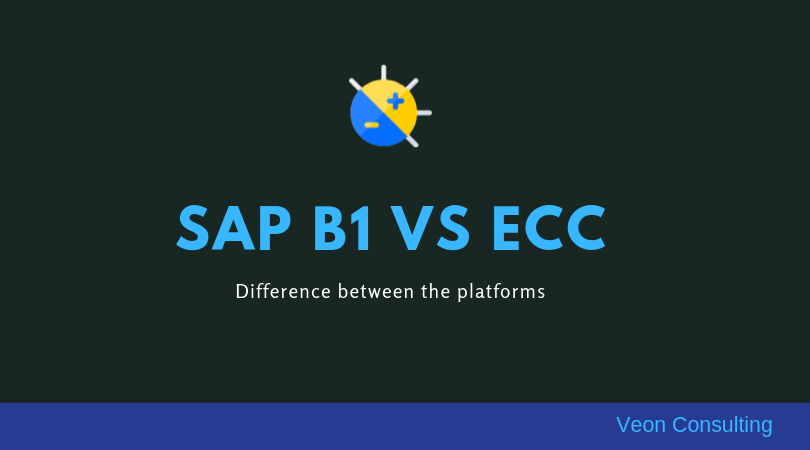 SAP ECC versus SAP Business One